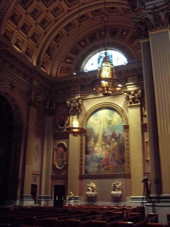 Cathedral Basilica of Saints Peter and Paul : Fresco 1