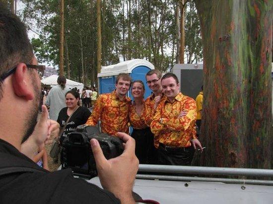 Parque La Sabana: Artistas rusos que nos visitaron con motivo del FIA