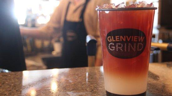 Glenview Grind: Fresh brewed iced teas and lemonades.