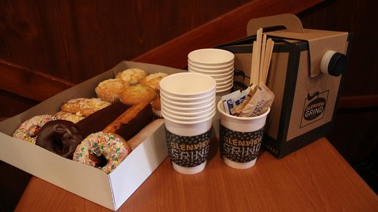 Glenview Grind: We can cater your next meeting or event.