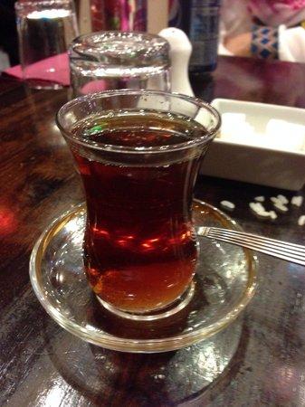 Sultan Bbq: Turkish tea