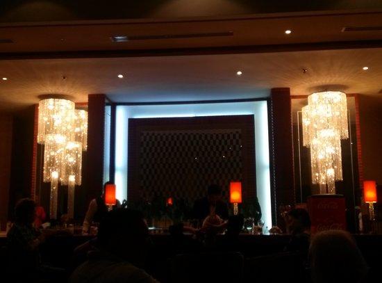 Hotel Palace Hammamet Marhaba: Il bar accanto alla Hall
