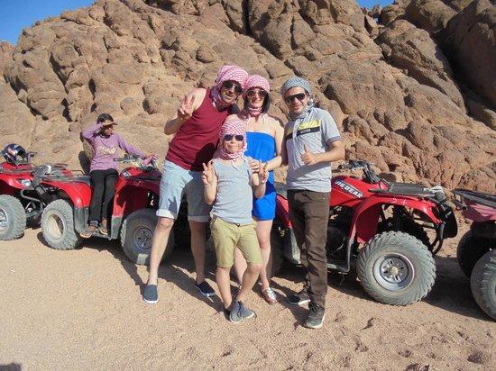 Sharm Smile - Day Tour: quad biking