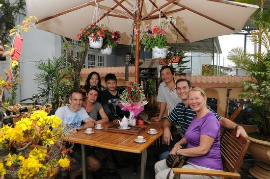 Hoi An NGO Homestay: Guest and owner