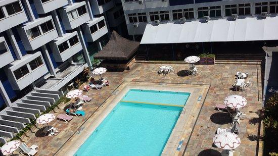 Recife Monte Hotel : Vista do quarto no qual nos hospedamos.