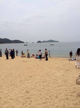 Deep Water Bay : La spiaggia