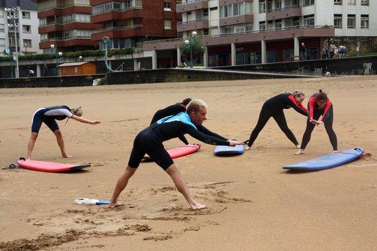 Moor surf eskola: WARMING