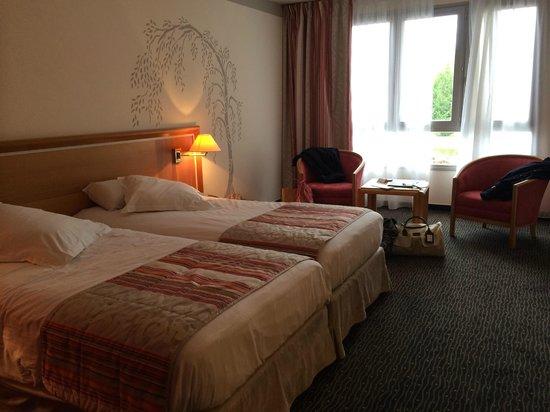 Hôtel de la Foret d'Orient : Twin pour un couple...
