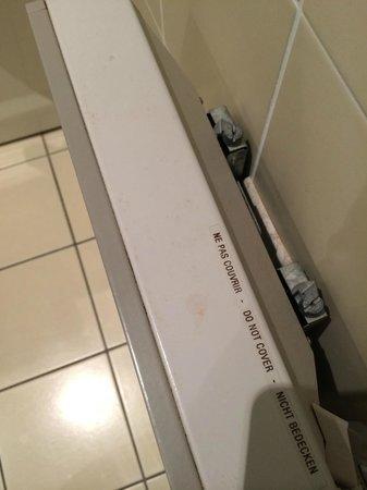 Hôtel de la Foret d'Orient : Pas très propre...