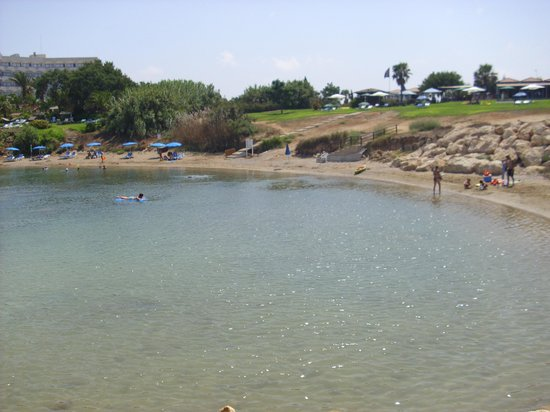 TUI SENSIMAR Sea Breeze by Atlantica: the little beach near the hotel