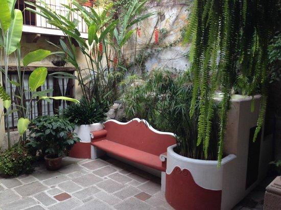 Hotel Meson de Maria : Patio interior