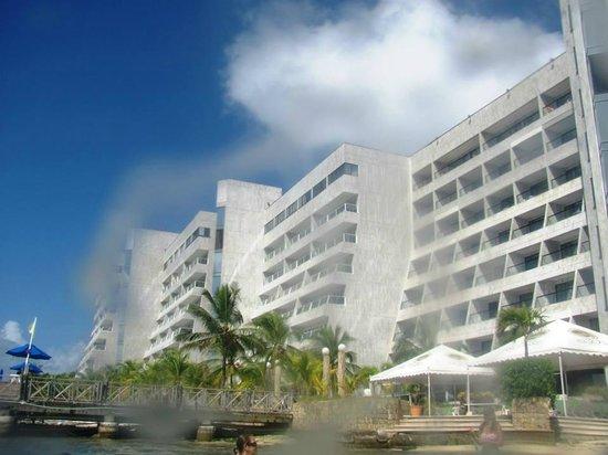 GHL Relax Hotel Sunrise: Vista del hotel desde la playa privada