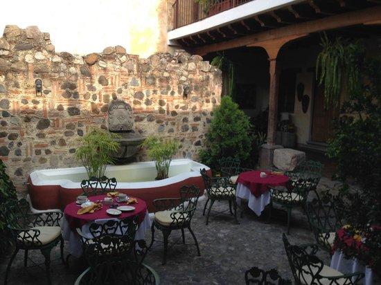 Hotel Meson de Maria: Patio interior