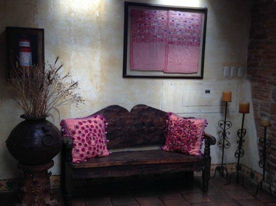 Hotel Meson de Maria: Pasillos