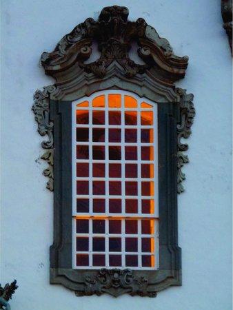 Igreja de São Francisco de Assis : Detalhe janela