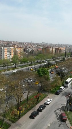 Akgun Istanbul Hotel: вид из номера