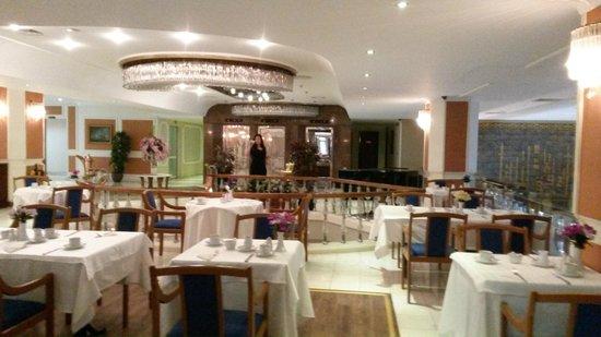 Akgun Istanbul Hotel: ресторан