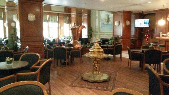 Akgun Istanbul Hotel: холл