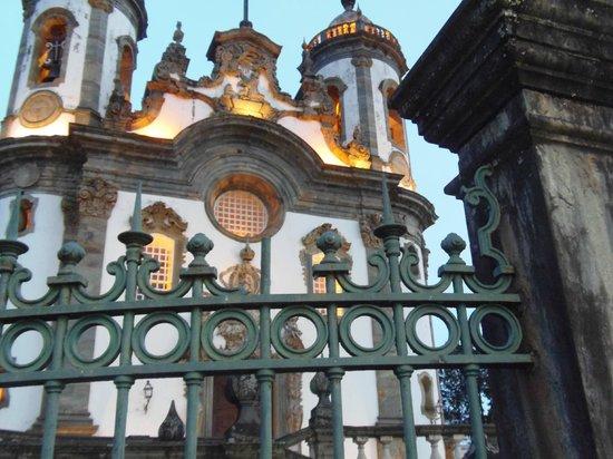 Igreja de São Francisco de Assis : Detalhe frontal