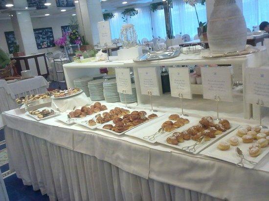 Atlantic Hotel Riccione : Prima colazione