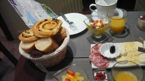 Hotel San Pedro : un petit déjeuner excellent !
