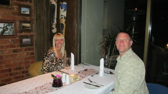 African Rock Hotel: Dinning