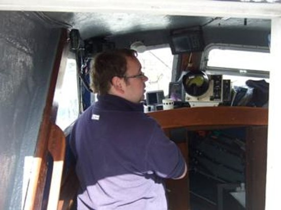 Ewings Sea Angling and Boat Charters: Ships Captain and Pilot, Daryl Ewing