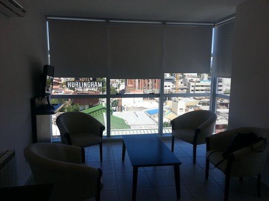 Amerian Carlos Paz Apart & Suites: vista desde comedor