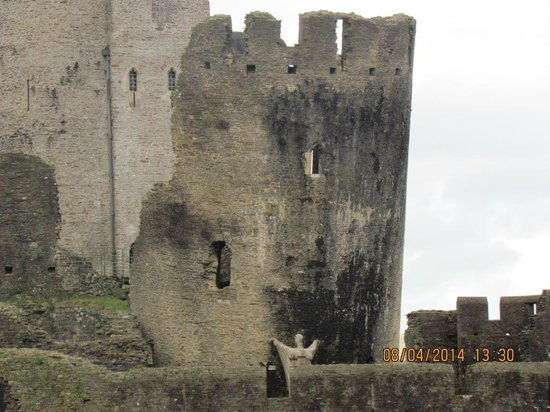 Caerphilly Castle: Leaning Tower