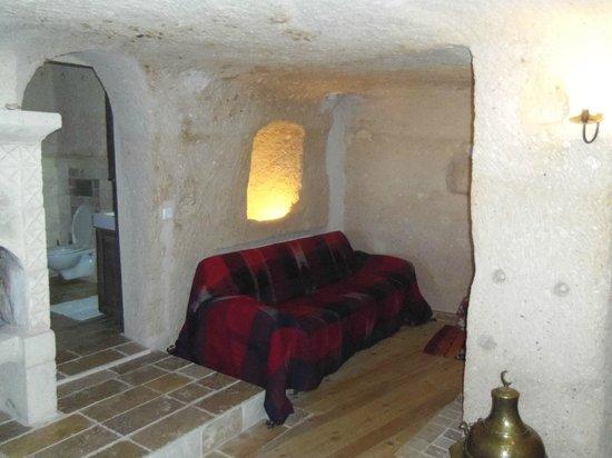 Takaev Cave Hotel & Guest House: salon