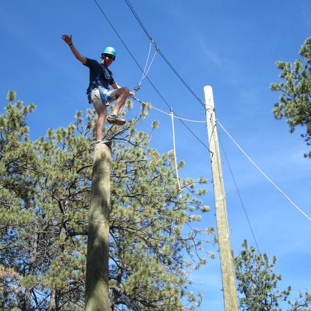 The Nature Place: The Power Pole/Leap of Faith