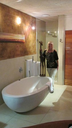 African Rock Hotel : Bathroom