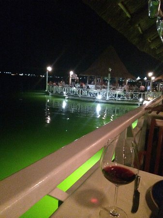 Lorenzillo's : The Lagoon (our view)