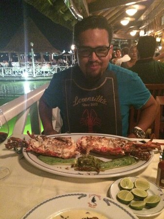 Lorenzillo's : Poor Lobster!
