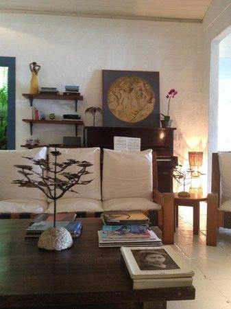 Pousada Picinguaba : the living room