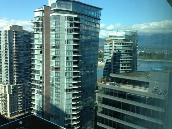 Coast Coal Harbour Hotel by APA: View North West, Coal harbor and Stanley Park in the background
