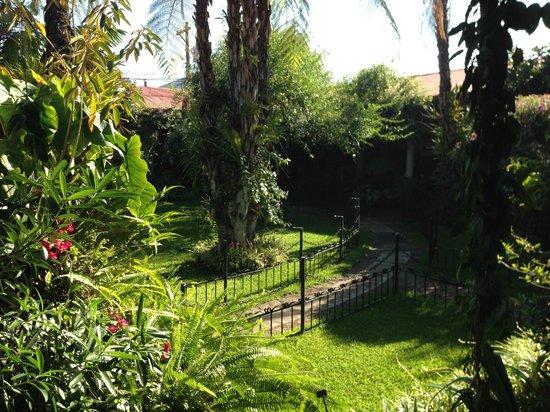 Hotel Casa Duranta: Jardín