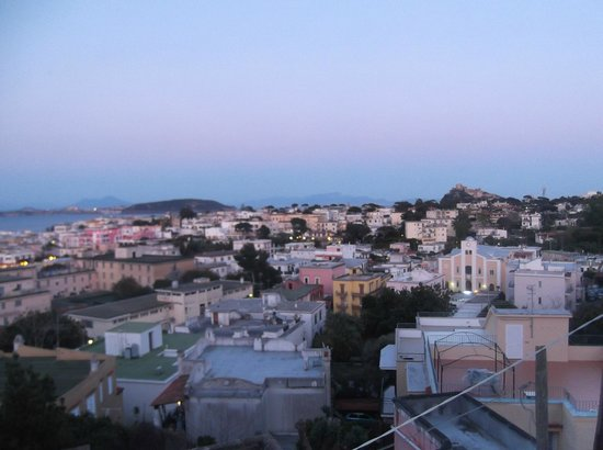 Posidonia Residence: the beautiful balcony view