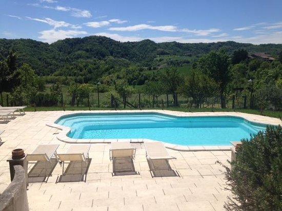 Ca' San Sebastiano Wine Resort & Spa: Piscina agriturismo