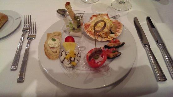 Hipotels Barrosa Palace Hotel: Buffet-Variationen