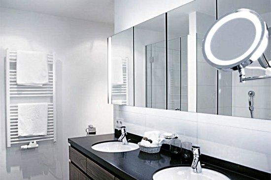 Hotel Goldener Berg: Studio, bathroom