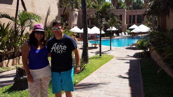 Villas El Rancho Green Resort: la vista a la alberca