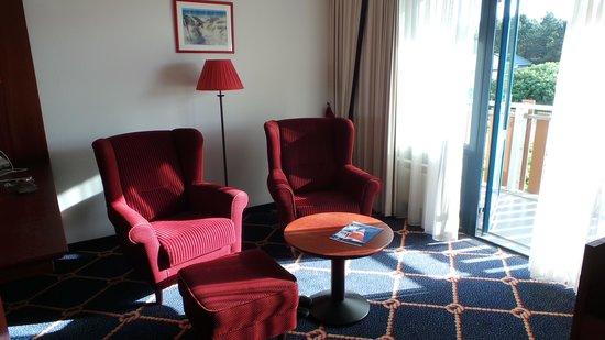 WestCord Hotel Noordsee: zitje