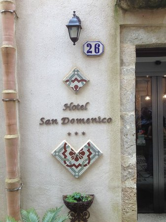 Hotel San Domenico : Main entrance