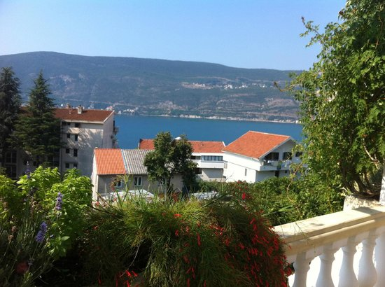 Apartments Herceg Novi: View from the ground terrace