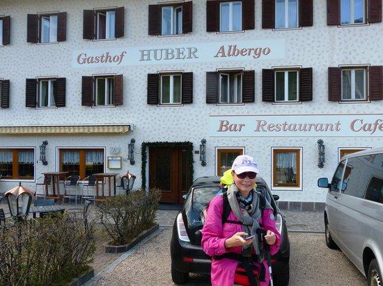 Gasthof Huber : Abmarsch am Morgen