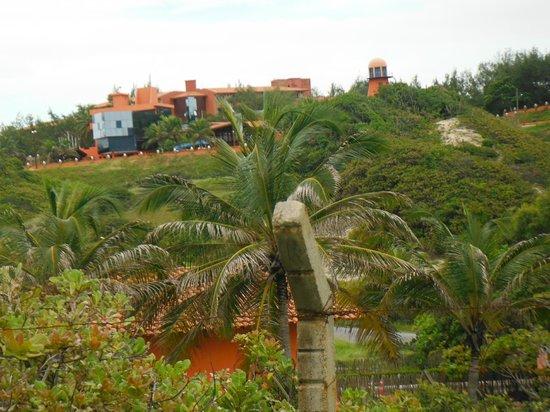 Porto D'Aldeia Eco Lodge: Vista do Hotel