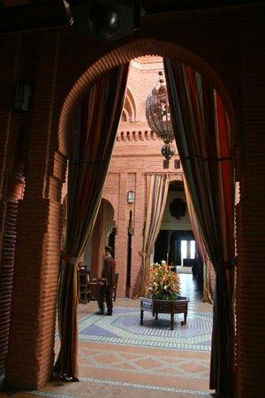 Hotel Les Jardins de l'Agdal : Réception