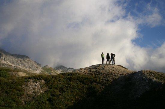 Hotel Goldener Berg: Hiking