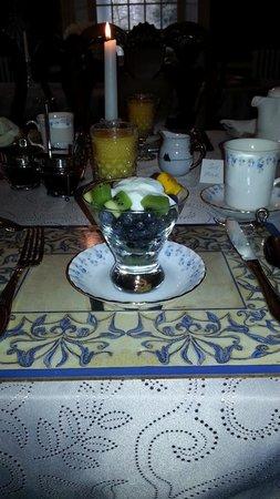 Brockamour Manor Bed and Breakfast: Super Breakfast